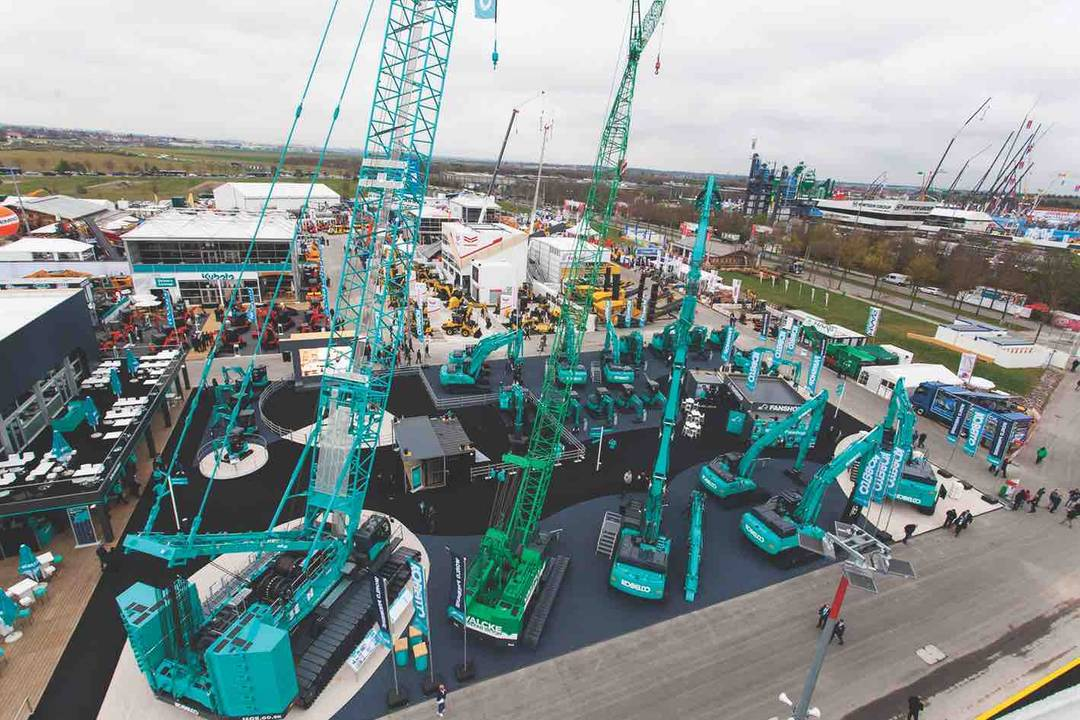 Kobelco launches largest excavator and electric mini