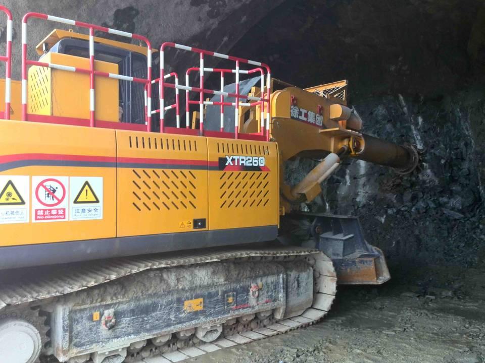 XCMG XTR260 plays role in Dali-Ruili Railway project - www